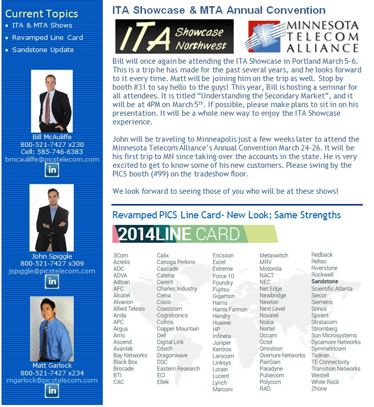 Newsletter 2014Q1 Page 1