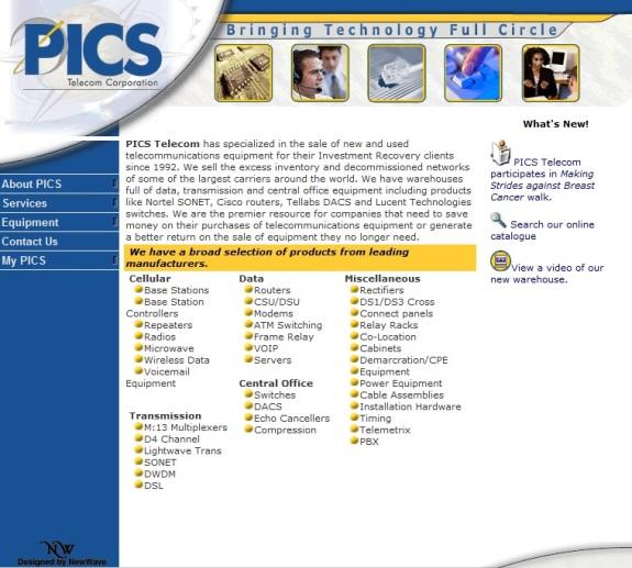 PICS Website 2006