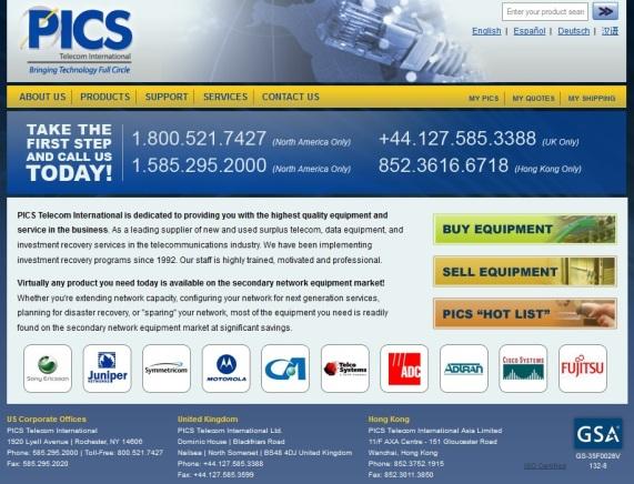 PICS Website 2010