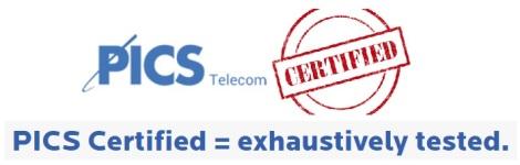 PICS Certified TestingCapabilities